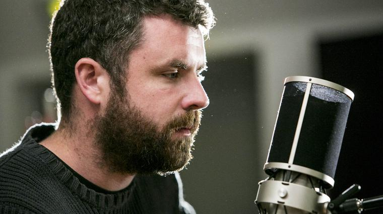 Mick Flannery during the Windmill Lane Sessions