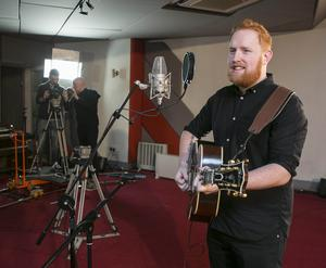Gavin James during the Windmill Lane Sessions
