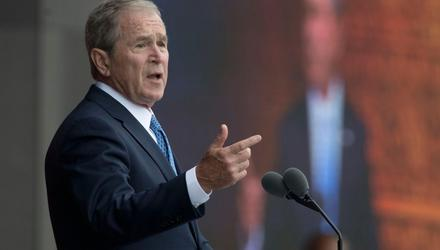 George W Bush ordered the invasion of Afghanistan as a response to the terror attacks
