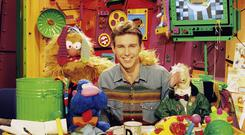 Ray D'Arcy on Den TV in 1993. Picture RTE Stills Library.