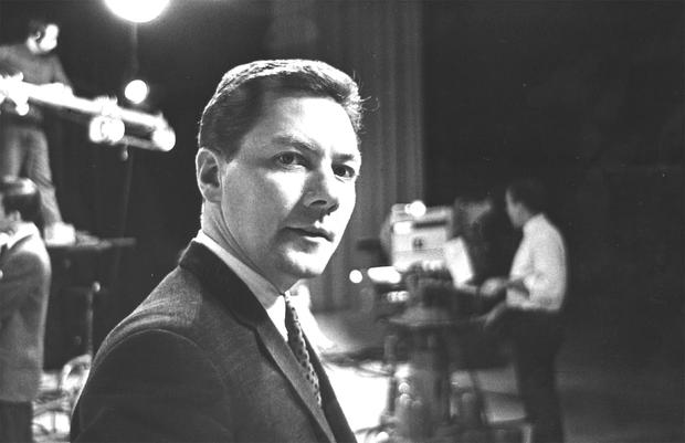 Pioneer: Gay Byrne in the RTE Studios in 1967.