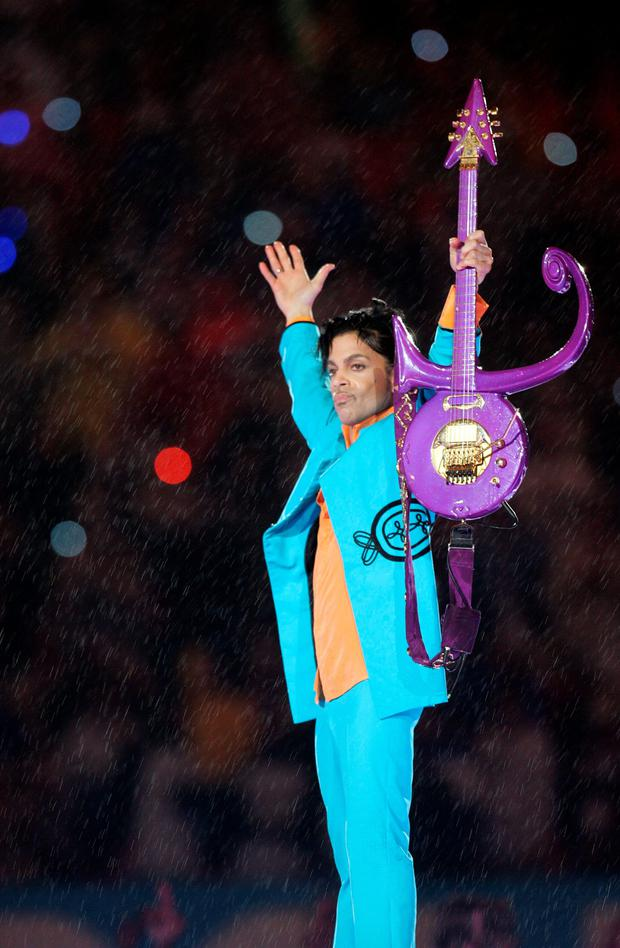 Prince was amazing to watch... a real showman, mesmerising, pure theatre.