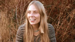 Joni Mitchell, whose album Blue is 50 years old