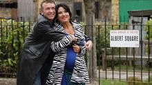 Starting anew: Alfie and Kat are moving across the Irish Sea in a six-part EastEnders spin-off