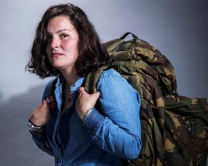 The hunt is on: Lauren English one of the fugitives in Hunted