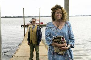 Versatility: Emily Watson, with Paddy Considine, in The Third Day