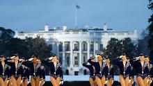 Performing for POTUS: The Radio City Rockettes at the White House in 2005