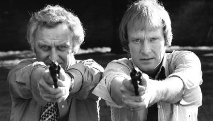 The fictional Flying Squad of TV's The Sweeney, with John Thaw and Dennis Waterman, was nothing like the grubby reality