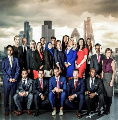 The Apprentice cast