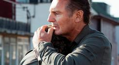 Liam Neeson in Taken; the movie has helped make the Ballymena native one of the highest-paid actors in the world