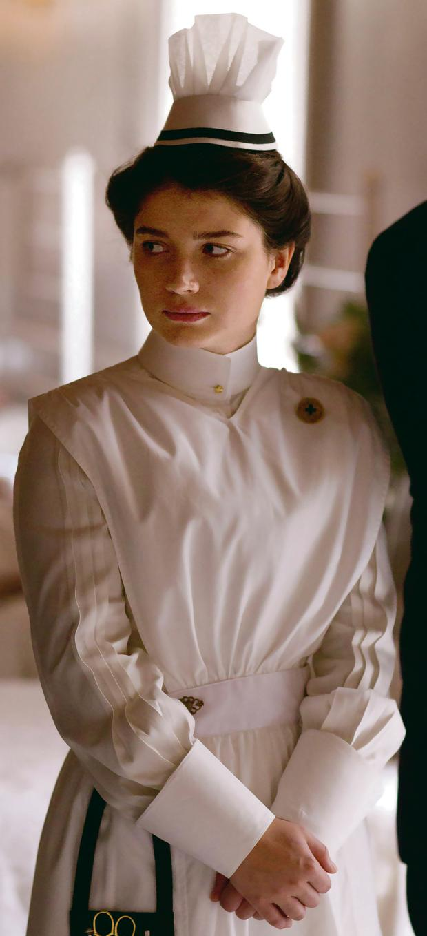 Eve Hewson as Lucy Elkins in 'The Knick' TV series
