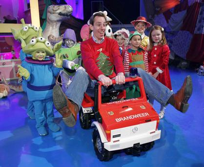 Ryan Tubridy pictured during a sneak preview of the Late Late Toy Show 2014