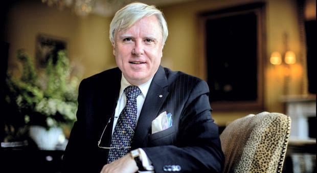 Hotelier and television personality Francis Brennan. Picture by David Conachy.