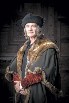 Anton Lesser as Thomas More in Wolf Hall