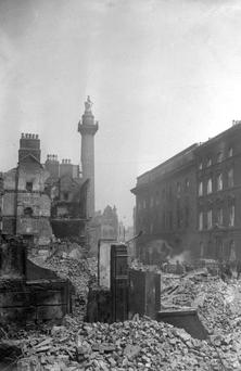 O'Connell Street after the 1916 Rising