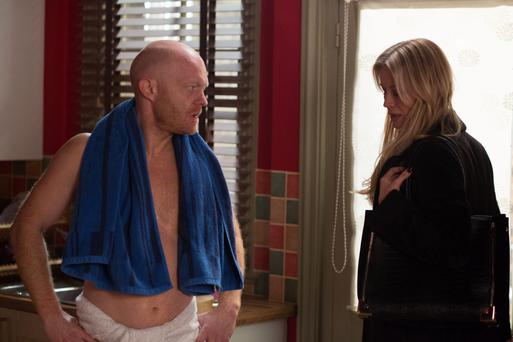 Eastenders - Courtesey of the BBC - towel-toting Max Branning