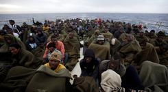 Rescued in the Mediterranean: Of the 647 migrants picked up by the MV Eithne, 544 turned out to be male