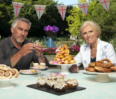 Judges Paul Hollywood and Mary Berry