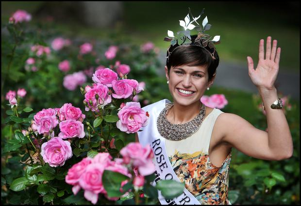 Reigning Rose of Tralee Maria Walsh