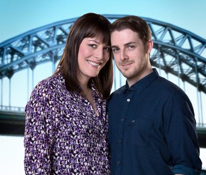 Rebecca Root and Harry Hepple in Boy Meets Girl