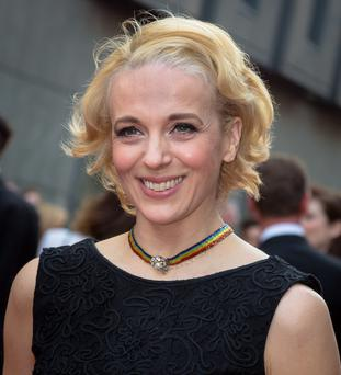 Cuffs star Amanda Abbington