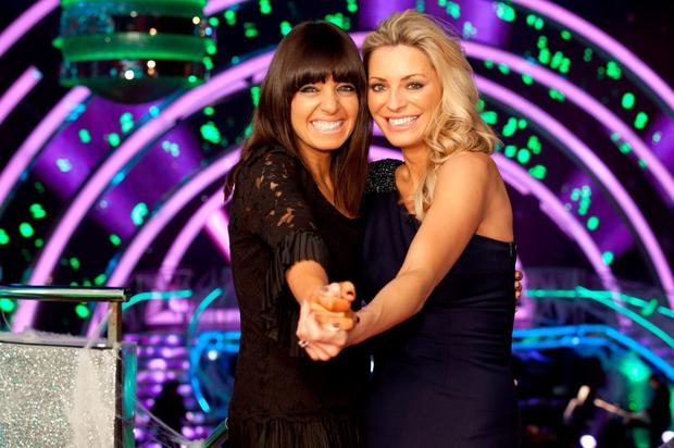 Strictly Come Dancing presenters Tess Daly and Claudia Winkleman.