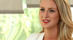 New image: Michaella McCollum during her interview with RTÉ.