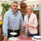 Paul Hollywood and Mary Berry on the Great British Bake-off