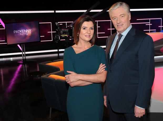 Colette Fitzpatrick and Pat Kenny