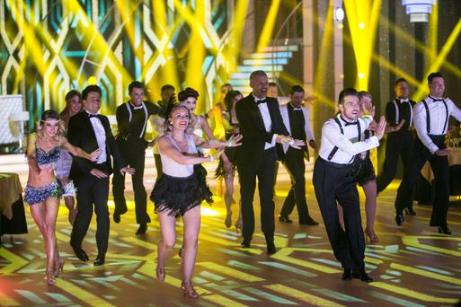 Winning formula: The opening sequence to RTE's Dancing with the Stars, which has taken thirteen years to arrive on these shores