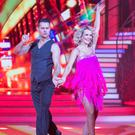 Aoibhin Garrihy dancing with partner Vitali Kozmin during the Second live show of RTE's Dancing with the Stars.Photo: Kyran O'Brien