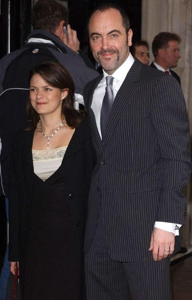 James Nesbitt with his wife Sonia Forbes-Allen in 2005. The couple's 23-year marriage ended in divorce last year. Photos: PA