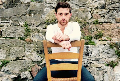 Chair of the boards: Jérémie Cyer-Cooke, a French-Canadian living in Galway, will perform the one-man Blood on the Moon at the Galway Theatre Festival