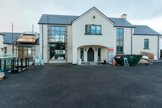Renovation at the home of Daniel and Majella O'Donnell, in Meenbanad, Co. Donegal. Photo: James Connolly