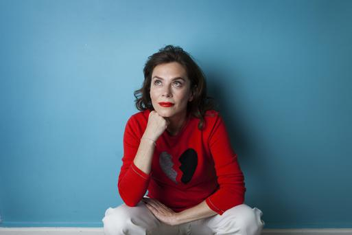 Straight talking: Anna Friel remains true to her Northern England roots. PIC: Ril Schroer