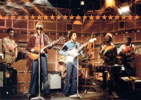 Bob Marley and the Wailers in Spring 1973 on the Old Grey Whistle Test
