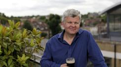 Adrian Chiles still enjoys a pint of Guinness