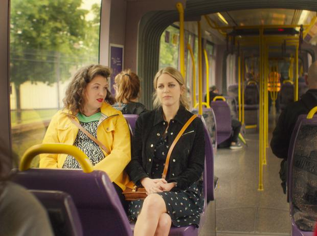 Hannah Scott and Amy Huberman in 'Finding Joy'