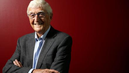 Michael Parkinson, the miner's son who interviewed the great and good during television's golden age . Picture by Gerry Mooney