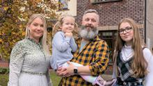 The Mc Loughlin family has nabbed a spot in the Home Of The Year final. Photo: RTÉ