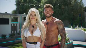 Liberty and Jake from Love Island 2021. Photo: ITV