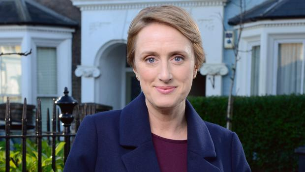 Programme Name: EastEnders - Portraits 2017 - TX: n/a - Episode: EastEnders - Michelle Fowler (No. n/a) - Picture Shows:  Michelle Fowler (JENNA RUSSELL) - (C) BBC - Photographer: Kieron McCarron