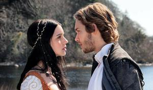 Mary, played by Adelaide Kane, and Prince Francis, played by Toby Regbo from the TV drama series 'Reign' which was filmed in Ireland.