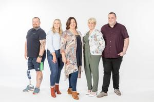 Operation Transformation leaders Chris McElligott, Mairead Redmond, Yvonne Keenan Ross, Marie Grace and Sean Daly