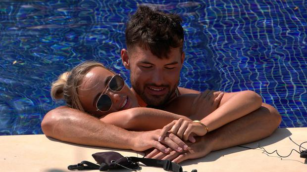 Love Island's Millie and Liam