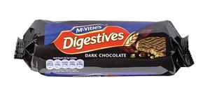 Undated handout photo issued by Which? of a packet of McVitie's Digestives dark chocolate biscuits, as many supermarket items are getting smaller as prices remain the same â or even increase, the consumer group has warned.