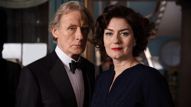 Bill Nighy and Anna Chancellor (BBC/Mammoth Screen/ACL/James Fisher)