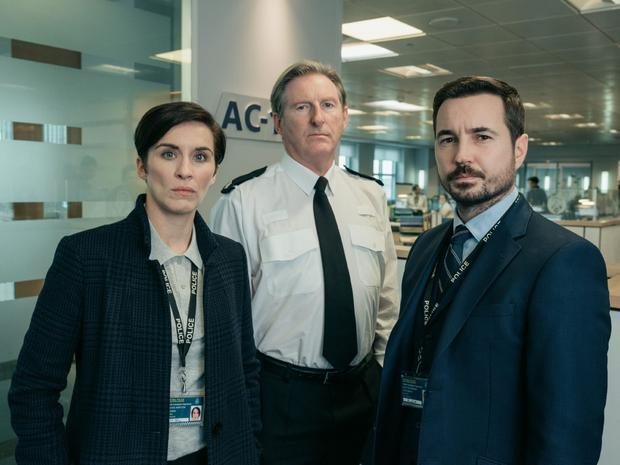 Vicky McClure, Adrian Dunbar and Martin Compston will go head to head for best drama performance tonight. Credit: Aiden Monaghan