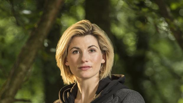 Jodie as the Doctor (Colin Hutton/BBC)