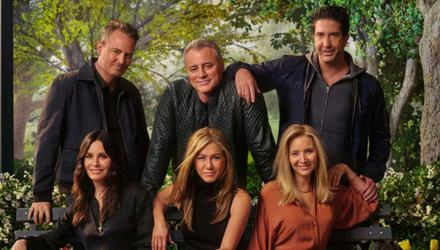 The cast have reunited for a trip down memory lane in Friends: The Reunion